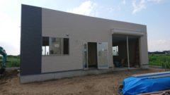 お盆の完成に向けて事務所の新設が順調に進んでます!
